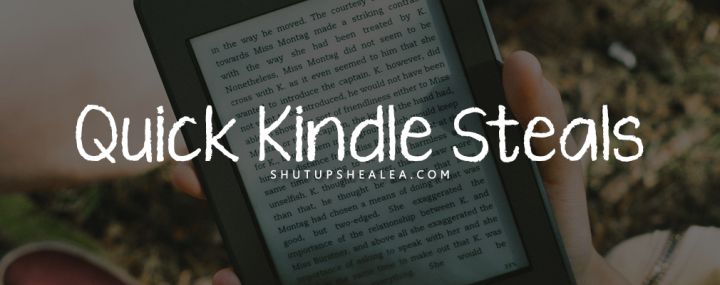 Quick Kindle Steals (Vol 4): Diverse books you can buy for $2.99 or less