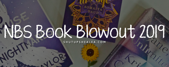 How to charge into a book sale like a warrior (ft. NBS Cubao Book Blowout2019)