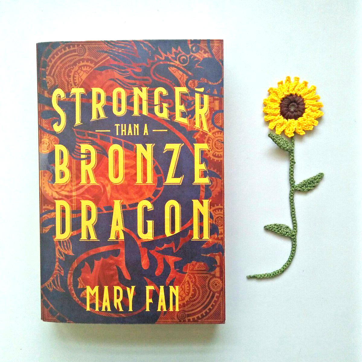 Physical ARC of Stronger Than a Bronze Dragon by Mary Fan