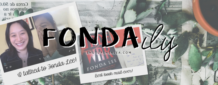 Spotlight Mini-Series: Fonda Lee on the daily, part 5 (ft. Asian soups & second book stress)